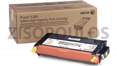 XEROX TONER PHASER 6280 YELLOW 106R01394