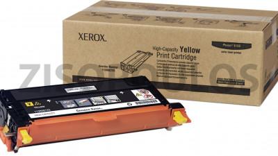 XEROX TONER PHASER 6180 YELLOW 113R00725