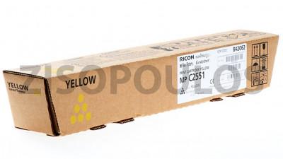 RICOH  TONER  MPC2051/C2551 HY YELLOW 841507