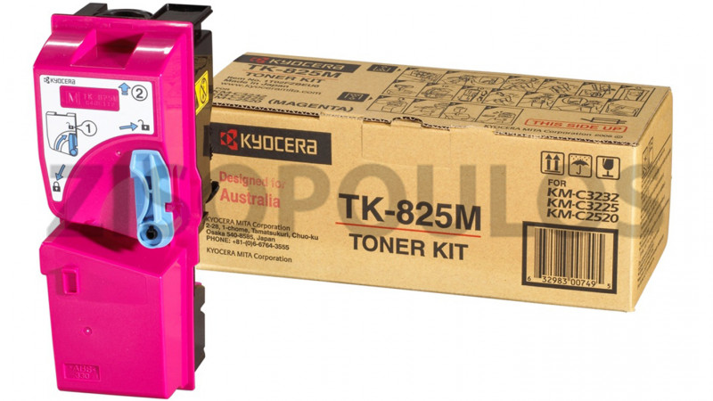 KYOCERA TONER TK 825 MAGENTA 1T02FZBEU0