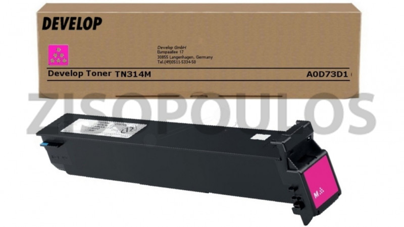 DEVELOP TONER TN 314 MAGENTA A0D73D1