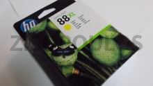 HP Ink Cartridge  88XL Yellow