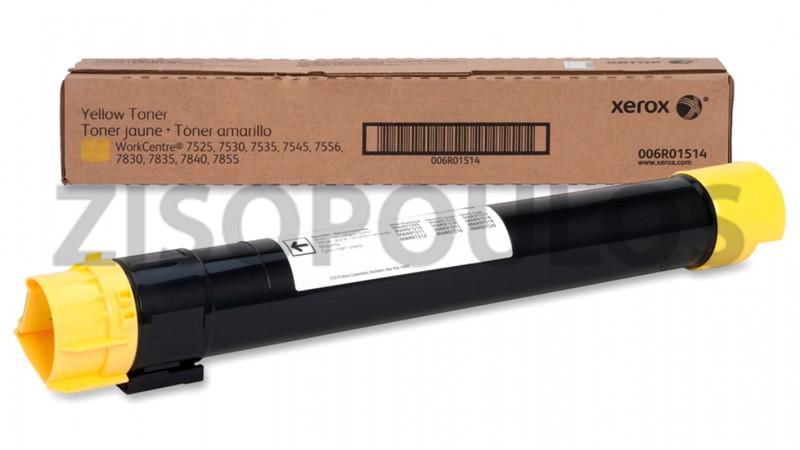 XEROX TONER CARTRIDGE 006R01514 YELLOW