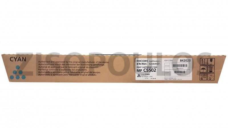 RICOH TONER MPC 5502 CYAN 841690