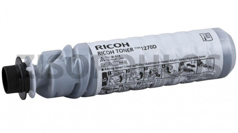 RICOH TONER 1270D BLACK 888261