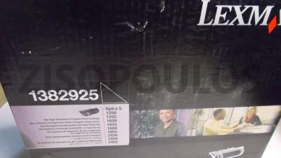 LEXMARK  Toner Cartridge 1382625 Black