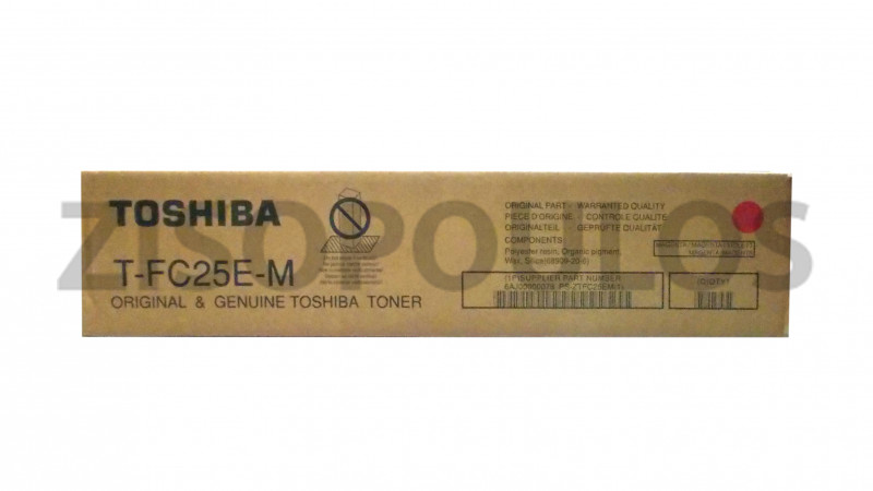 TOSHIBA TONER TFC25E-M MAGENTA