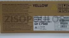 RICOH  Toner MPC 7500 Yellow