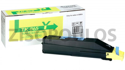 KYOCERA  TONER CARTRIDGE TK-865 YELLOW