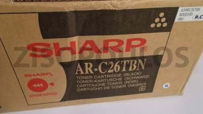 SHARP  Toner Cartridge ARC26TBE Black