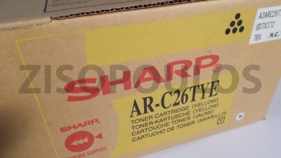 SHARP  Toner Cartridge ARC26TYE Yellow