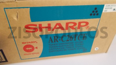 SHARP  Toner Cartridge ARC26TCE Cyan