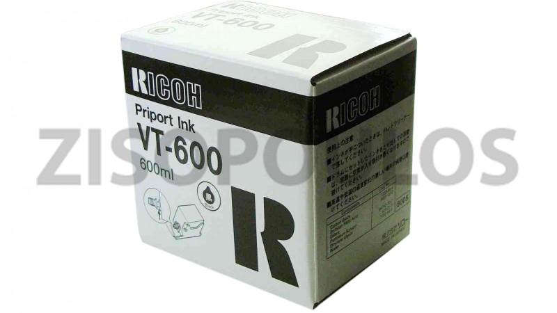 RICOH PRIPORT INK VT 600 BLACK 817101