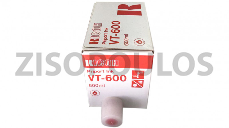 RICOH PRIPORT INK VT 600 RED 613429