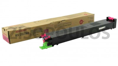 SHARP  TONER CARTRIDGE MX27GTMA MAGENTA