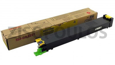 SHARP  TONER CARTRIDGE MX27GTYA YELLOW