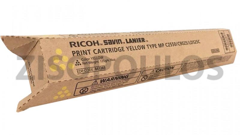 RICOH TONER MPC 2550 YELLOW 841199