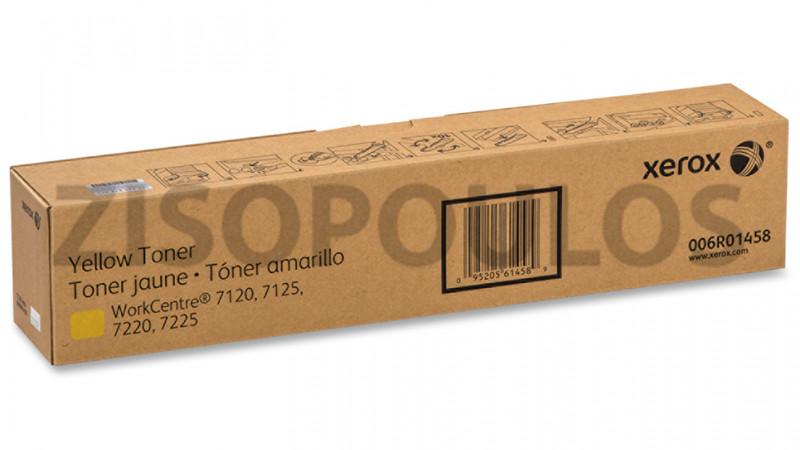 XEROX TONER 006R01458 YELLOW