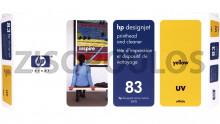 HP Printhead UV 83 Yellow C4963A