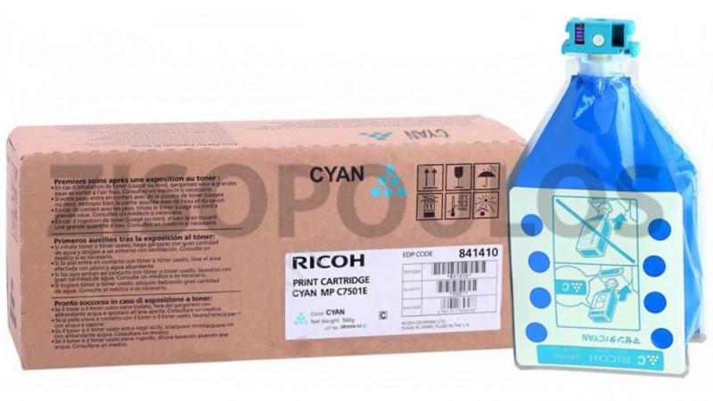 RICOH TONER MPC 7501 CYAN 841366