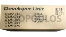 KYOCERA  DEVELOPER DV-540C CYAN 302HL93030