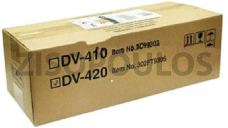 KYOCERA DEVELOPER UNIT DV 420 BLACK 302FT93053