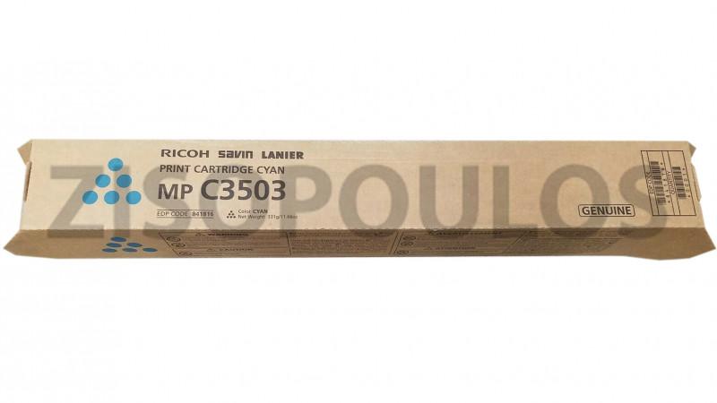 RICOH TONER MPC 3503 CYAN 841820