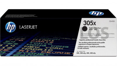 HP TONER 305X BLACK CE410X