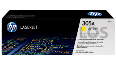 HP TONER CE412A YELLOW 305A