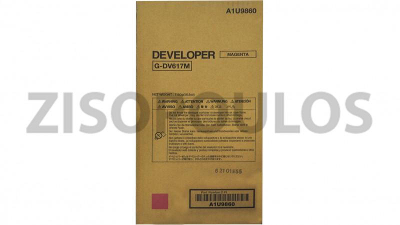 KONICA MINOLTA DEVELOPER DV 617 MAGENTA A1U9860