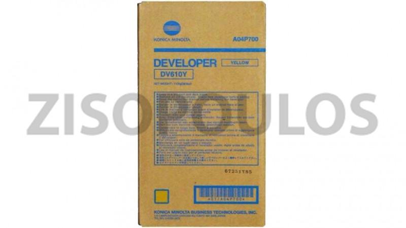 KONICA MINOLTA DEVELOPER DV 617 YELLOW A1U9760
