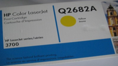 HP Toner Cartridge Q2682A  Yellow