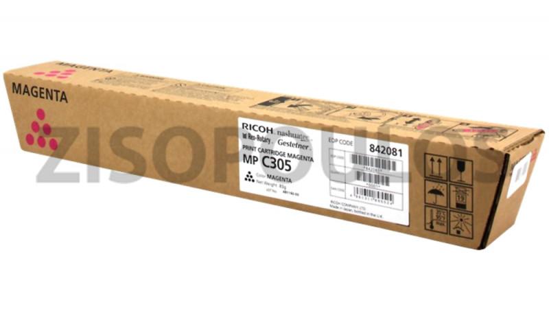 RICOH TONER  MPC 305E MAGENTA 842081