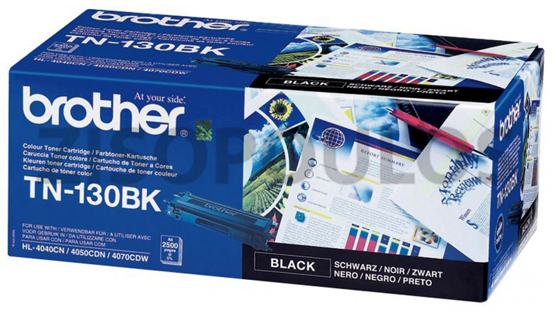 BROTHER TONER TN 130 BLACK 4977766648097