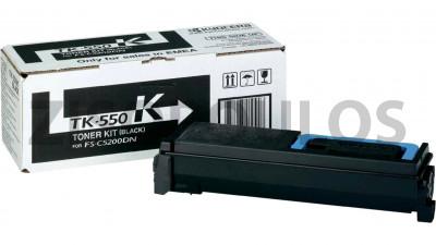 KYOCERA  TONER  TK-550K BLACK