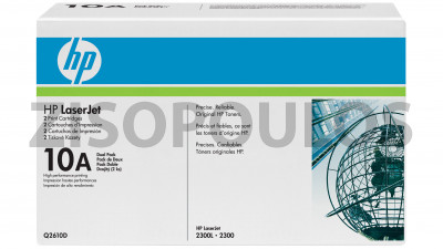 HP TONER HP 10A BLACK DUAL PACK