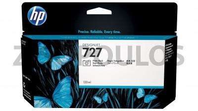 HP INK CARTRIDGE 727 PHOTO BLACK B3P23A