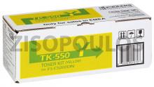 KYOCERA  Toner  TK-550Y Yellow