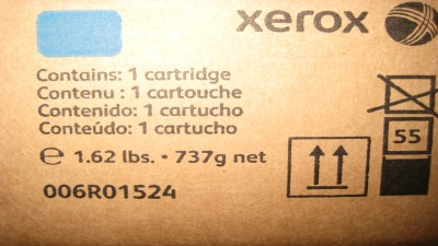 XEROX  TONER CARTRIDGE 006R01524 CYAN
