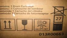 XEROX  DRUM CARTRIDGE CRU 013R00663 BLACK