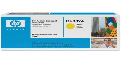 HP TONER Q6002A YELLOW