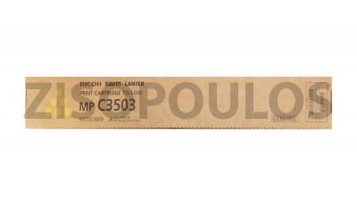RICOH  TONER MPC 3503 YELLOW 841818