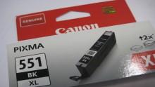 CANON  Ink Cartridge CLI-551XL Black