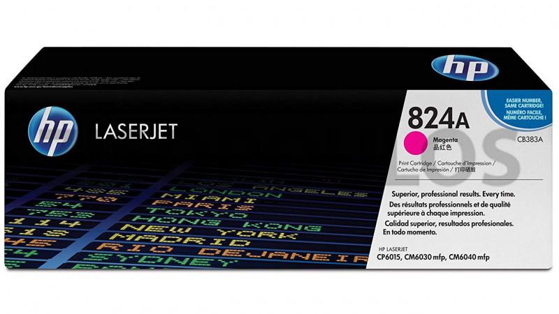 HP TONER 824A MAGENTA CB383A