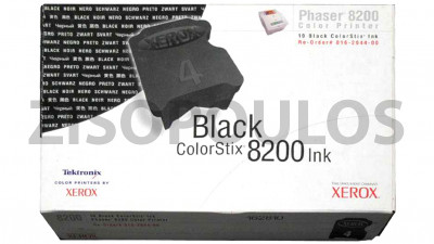 XEROX COLORSTIX INK  016204400 BLACK10 ΤΕΜ