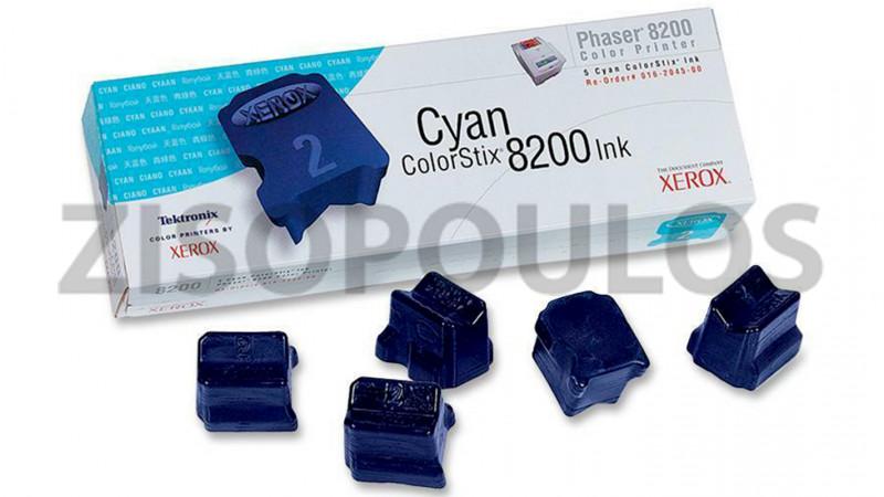 XEROX COLORSTIX INK 016204500 CYAN 5 ΤΕΜ
