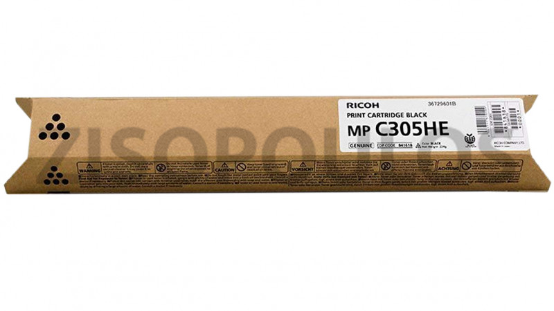 RICOH TONER  MPC 305H BLACK 842079