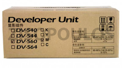 KYOCERA  DEVELOPER UNIT DV-560M MAGENTA 302HN93243