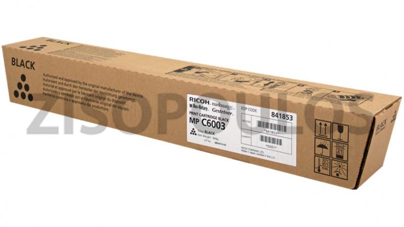 RICOH TONER  MPC 6003 BLACK 841853
