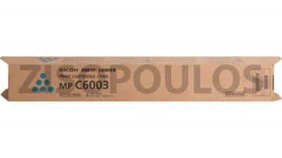 RICOH  TONER MPC6003 CYAN 841856